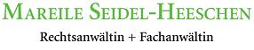 Rechtsanwältin Seidel-Heeschen